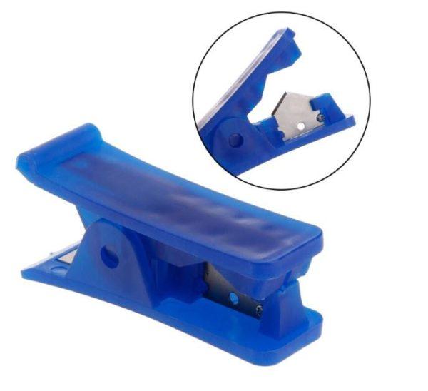 חותך צינוריות מדויק וקל מאוד לשימוש מתאים לחיתוך צינוריות מסוגים שונים כגון צינורית טפלון, סיליקון, פי וי סי, ניילון ופלסטיק.-4275