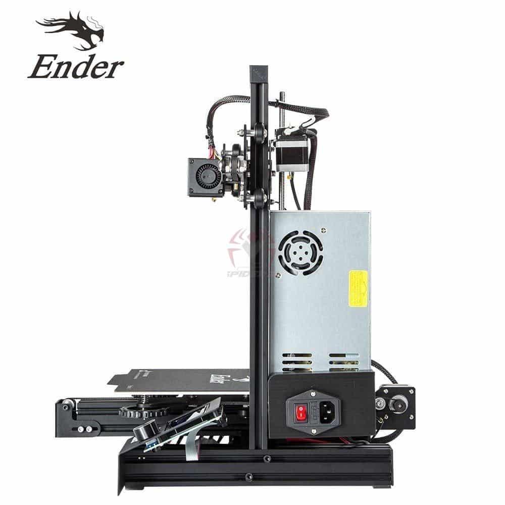 אנדר Ender 3 מדפסת תלת מימד מצויינת, הכי זול בישראל - יותר כדאי מלקנות בסין!-2595
