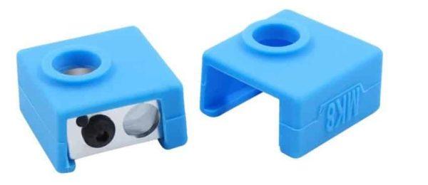 כיסוי סילקון לבלוק חימום במדפסת תלת ממד/ protective Silicone Sock Cover Case For Heater Block יחידה אחת, סוג- MK7/MK8.-3151
