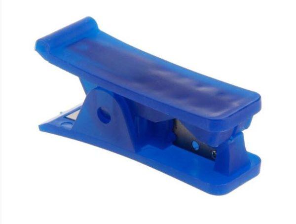 חותך צינוריות מדויק וקל מאוד לשימוש מתאים לחיתוך צינוריות מסוגים שונים כגון צינורית טפלון, סיליקון, פי וי סי, ניילון ופלסטיק.-4278