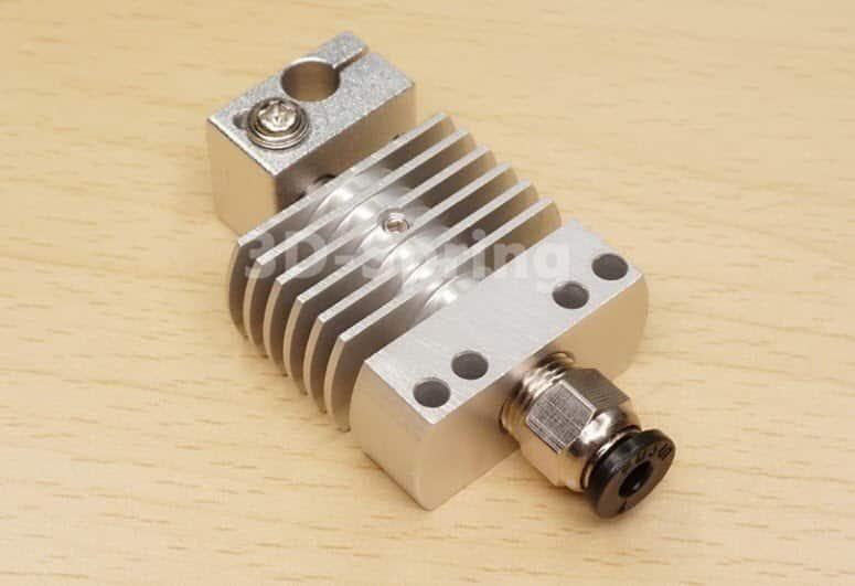 קיט ראש הדפסה CR-8 סט מלא, מתכת מלאה (all metal) בעל צלעות קירור רחבות מתאים לטמפרטורות גבוהות-0