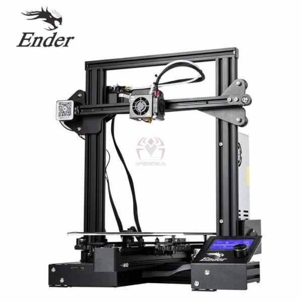 אנדר Ender 3 מדפסת תלת מימד מצויינת, הכי זול בישראל - יותר כדאי מלקנות בסין!-2597