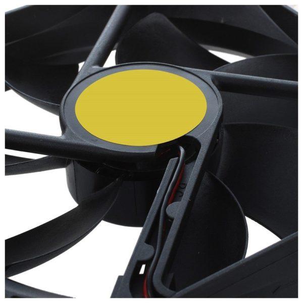 מאוורר סופר שקט Super silent לבניית פילטר לסינון ריחות 120 ממ * 25 ממ-2087