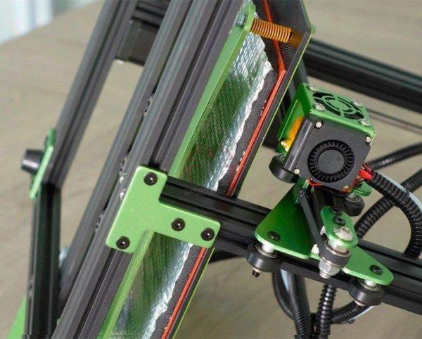 משטח הדפסה סטיקר מכותנה בידוד ופיזור אחיד של חום למדפסת תלת ממד-2198