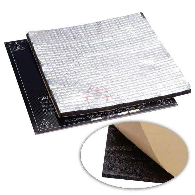 משטח הדפסה סטיקר מכותנה בידוד ופיזור אחיד של חום למדפסת תלת ממד-0