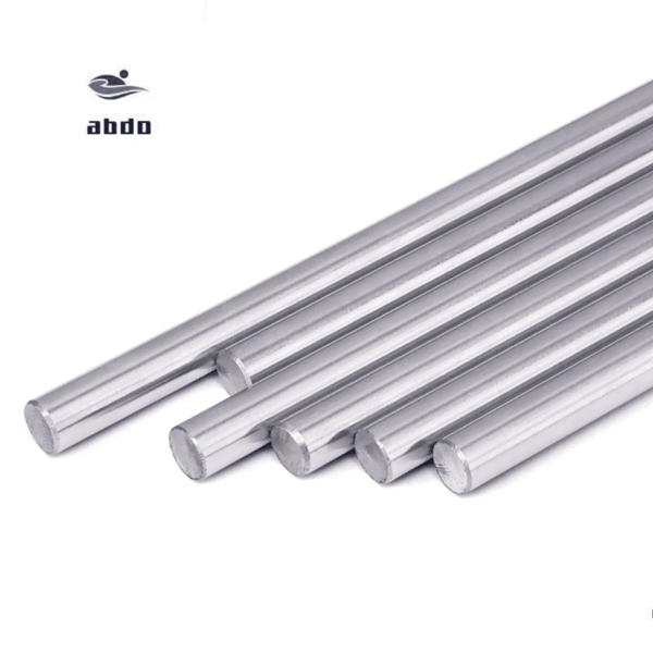 מוט מתכת למדפסת תלת ממד/ harden chromed linear rod cnc parts 3d printer. חומר איכותי. יחידה אחת, קוטר- 6 ממ, אורכים-100 ממ/150 ממ/200 ממ/250 ממ/300 ממ/400 ממ.-0
