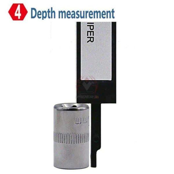 קליבר דיגיטלי Digital Caliber(מד זחיח דיגיטאלי) מודד במדויק, נוח לשימוש. טווח מדידה: 0-150-2802