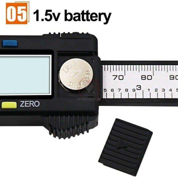 קליבר דיגיטלי Digital Caliber(מד זחיח דיגיטאלי) מודד במדויק, נוח לשימוש. טווח מדידה: 0-150-2806