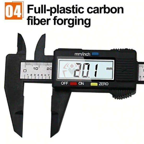 קליבר דיגיטלי Digital Caliber(מד זחיח דיגיטאלי) מודד במדויק, נוח לשימוש. טווח מדידה: 0-150-2804