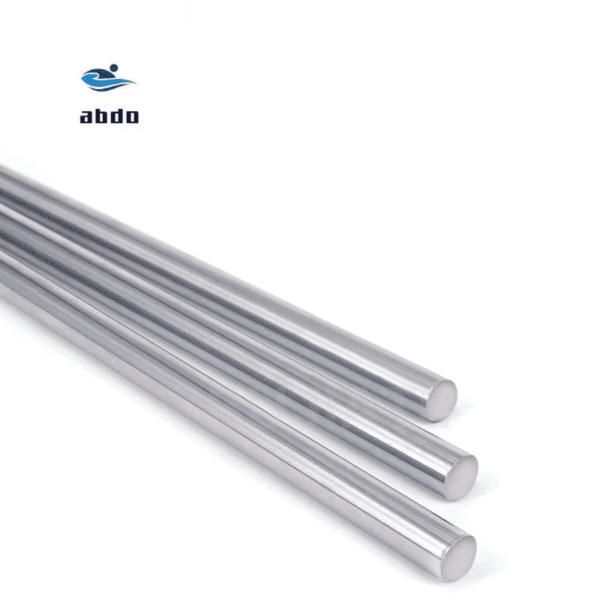 מוט מתכת למדפסת תלת ממד/ harden chromed linear rod cnc parts 3d printer. חומר איכותי. יחידה אחת, קוטר- 6 ממ, אורכים-100 ממ/150 ממ/200 ממ/250 ממ/300 ממ/400 ממ.-2356