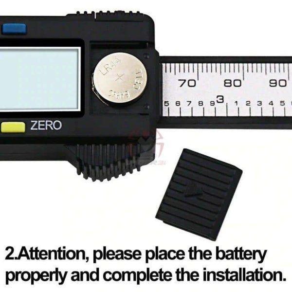 קליבר דיגיטלי Digital Caliber(מד זחיח דיגיטאלי) מודד במדויק, נוח לשימוש. טווח מדידה: 0-150-2814