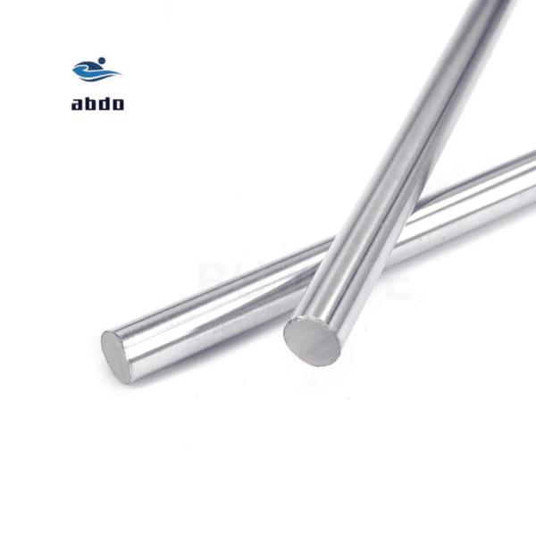מוט מתכת למדפסת תלת ממד/ harden chromed linear rod cnc parts 3d printer. חומר איכותי. יחידה אחת, קוטר- 6 ממ, אורכים-100 ממ/150 ממ/200 ממ/250 ממ/300 ממ/400 ממ.-2355