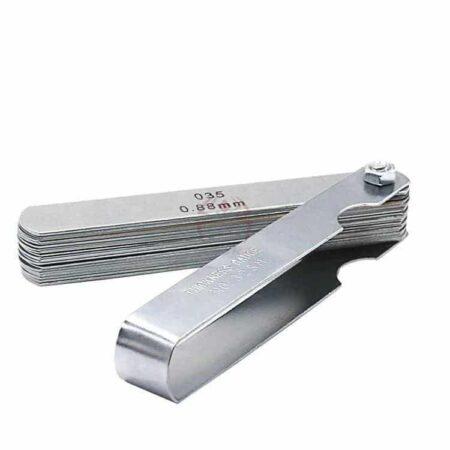 סט מניפה של 32 להבים למדידת עובי הדפסה מ0.04ממ -0.88ממ עשוי פלדה קפיצית-2254
