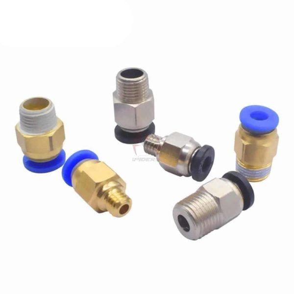 מחבר פנאטומי צינורית למדפסת תלת ממד/ Pneumatic Connectors For 3D Printers Parts.-2252