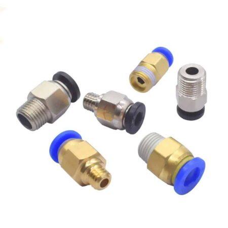 מחבר פנאטומי צינורית למדפסת תלת ממד/ Pneumatic Connectors For 3D Printers Parts.-2249