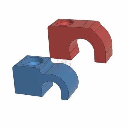 """תופס כבל 8-12 מ""""מ - קובץ STL להורדה והדפסה בתלת מימד-0"""