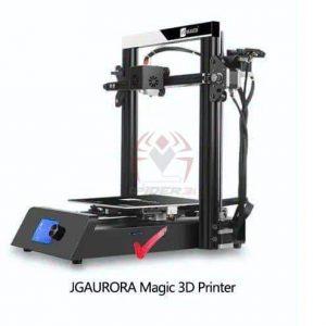 מדפסת מג'יק תלת מימד JGAURORA JGMAKER Magic -DIY-0