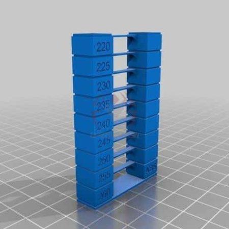 מגדל טמפרטורה - חום GCODE מוכן! מחליף טמפרטורה לפילמנט PLA מתאים ל ABS PLA TPU כולל קובץ STL להורדה-0