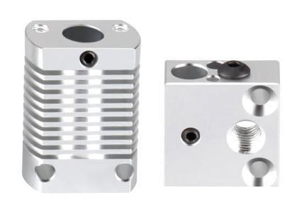 סט אקסטרודר ראש הדפסה הוטאנד מתאים למדפסות קריאליטי אנדר 3, סי אר 10 cr-10 Ender-3306