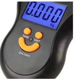 משקל אלקטרוני נייד קטן, נוח לאחיזה וקל לשימוש-3321
