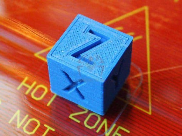 קוביית xyz לבדיקת הכיול במדפסת - קובץ STL הורדה והדפסה בתלת מימדבחינם -3401