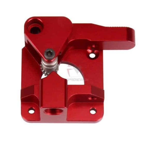 זרוע אקסטרודר אלומניום מחוזק - דואל בעלת 2 גלגלי שיניים למניעת החלקת החוט ובמיוחד לחומרים גמישים-4246