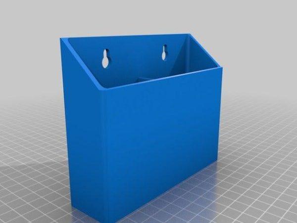 מחזיק לשלט רחוק - קובץ STL להורדה והדפסה בתלת מימד בחינם!-3666