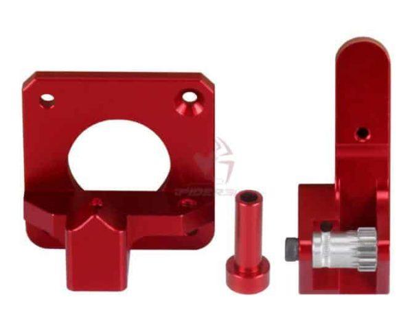 זרוע אקסטרודר אלומניום מחוזק - דואל בעלת 2 גלגלי שיניים למניעת החלקת החוט ובמיוחד לחומרים גמישים-4247