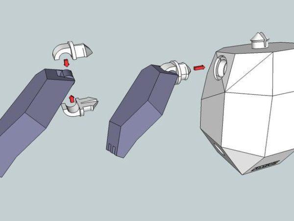 חלקי דוב פנדה גמיש קובץ STL הורדה והדפסה בתלת מימד חינם-3416