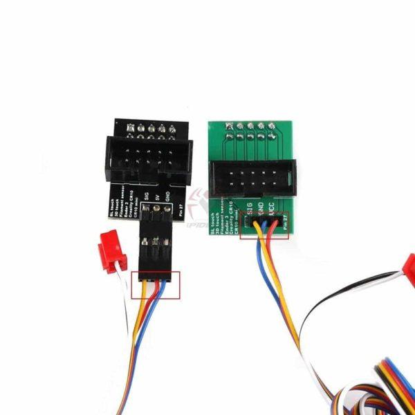 סט מלא - חיישן כיול - פילוס מיטה BLTouch לאנדר 3 - קיט קומפלט כולל bootloader המאפשר צריבה בקלות על אנדר 3 ו cr-10-3200