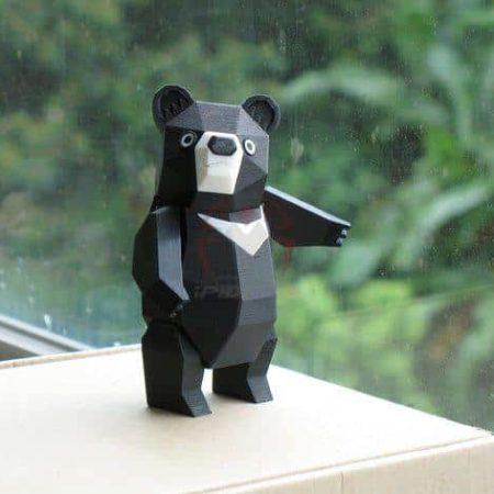 חלקי דוב פנדה גמיש קובץ STL הורדה והדפסה בתלת מימד חינם-0