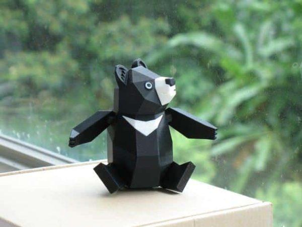חלקי דוב פנדה גמיש קובץ STL הורדה והדפסה בתלת מימד חינם-3417