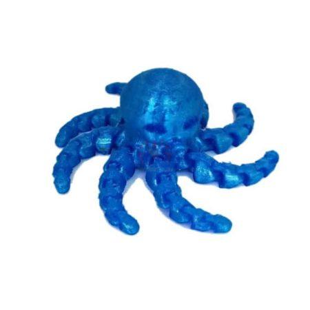 TPU כחול- רכות בינונית Blue Tpu Filament-4089
