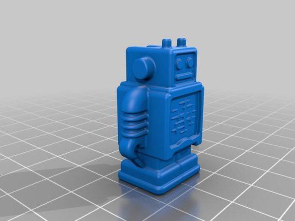רובוט - קובץ STL להורדה והדפסה בתלת מימד בחינם!-3389