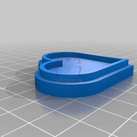 קופסת לב לדברים קטנים - קובץ STL להורדה והדפסה בתלת מימד חינם-0