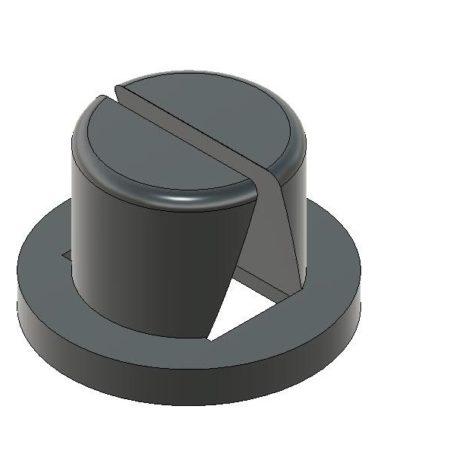 פקק חוסך משחת שיניים מדהים - פי 8 - הגרסה המשודרגת קובץ STL להורדה והדפסה בתלת מימד-0