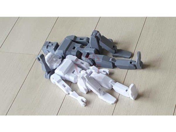 רובוט מגניב להדפסה, מודפס כיחידה אחת עם צירים זזים - קובץ STL להורדה חינם להדפסה בתלת מימד-3910