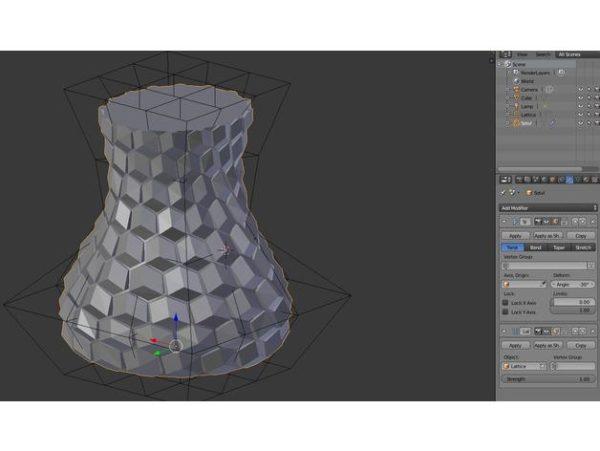אגרטל פרחים מעוצב - קובץ STL להורדה והדפסה בתלת מימד חינם-3926