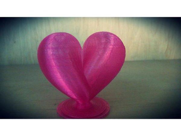 לב בתלת מימד - קובץ STL להורדה חינם והדפסה בתלת מימד-0