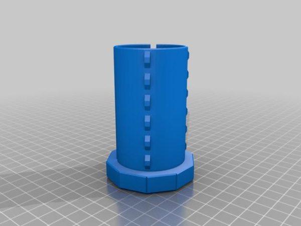 קופה מעוצבת - קובץ STL להורדה והדפסה בתלת מימדחינם-3880