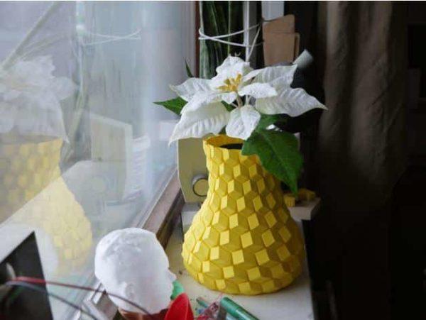 אגרטל פרחים מעוצב - קובץ STL להורדה והדפסה בתלת מימד חינם-3922