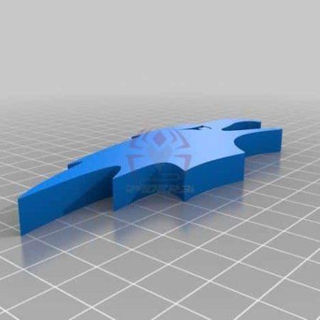 פותחן בקבוקים בצורת נץ - קובץ STL הורדה והדפסה בתלת מימד חינם-0
