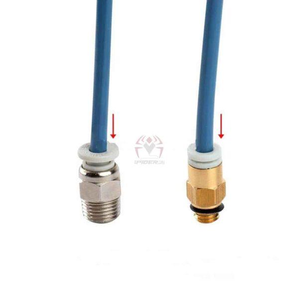 צינורית קופריקורן 1מטר או 1/2 מטר capricorn מקורית להובלת פילמנט אל האקסטרודר extruder -3821