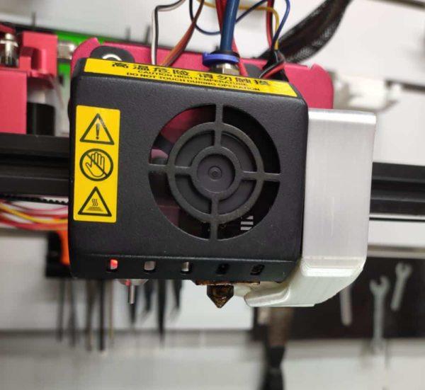 תעלת אוויר למפוח ( בלאוור ) מחוזק למדפסת CR-10S PRO קובץ STL להורדה והדפסה בתלת מימד-3956