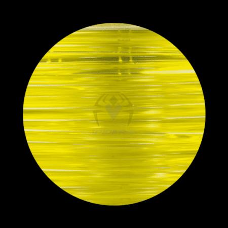פילמנט PETG צהוב שקוף - Transparent Yelow PETG Filament-0