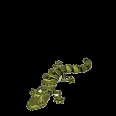 לטאה גמישה ומתקפלת Flexi lizard קובץ STL להורדה והדפסה בתלת מימד-0
