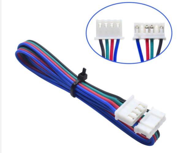 כבל / צמת חוטים חשמל למנוע צעד stepper באורך 1 מטר-4039
