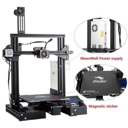 ENDER 3 PRO מדפסת תלת מימד אנדר 3 פרו -0