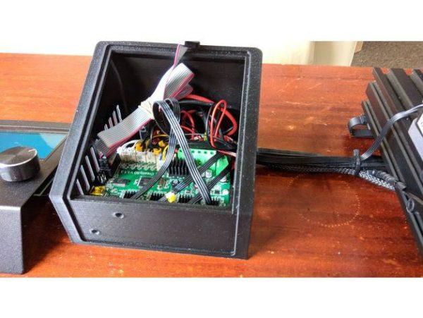 קופסא לבקר ולמסך עבור אנדר 3 - קובץ STL להורדה והדפסה בתלת מימד-4220