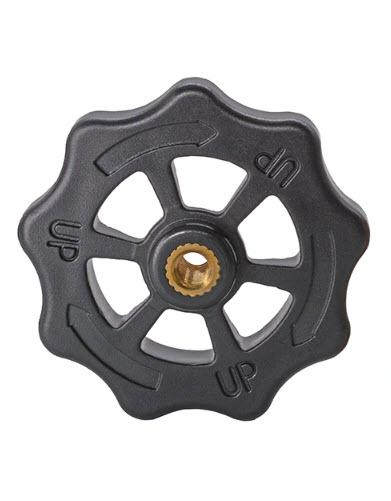 גלגל / ידית לכיול המיטה - רביעיית גלגלי כיול מיטה לכוון המדפסת -0
